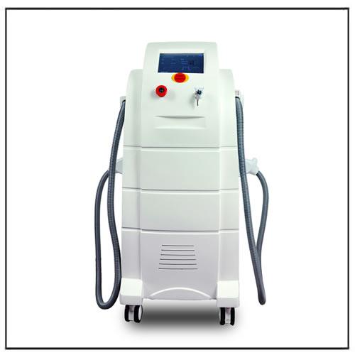 Double OPT Handles 2 in 1 IPL SHR Beauty Machine