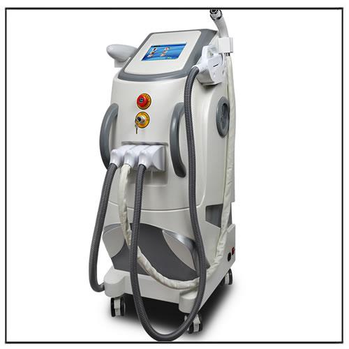 IPL RF Nd Yag Laser Q switch Machine