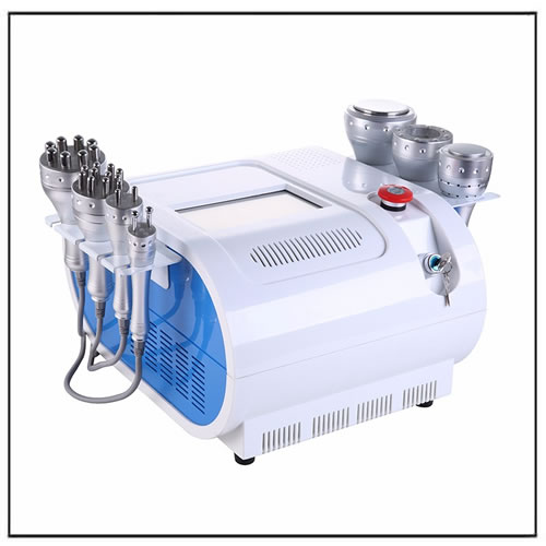 7 in 1 Multifunctional Ultrasonic Cavitation Vacuum RF Slimming Beauty Machine