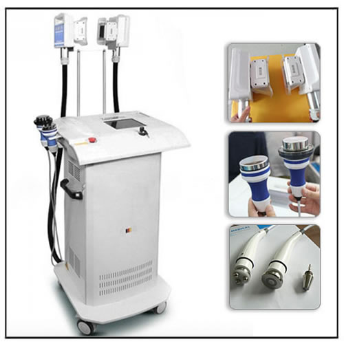 Cryotherapy Freezing Slimming Cavitation RF Wrinkle Removal