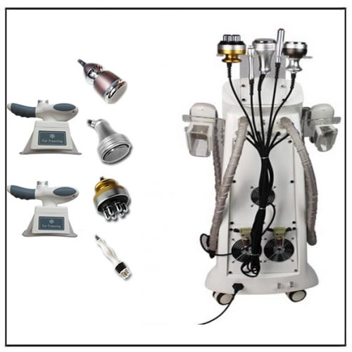 3Mhz Ultrasound 10Mhz RF Cavi Cryolipolysis Weight Reduction Machine