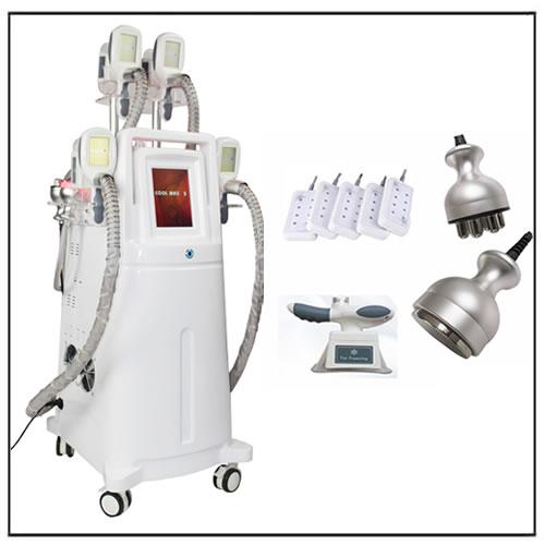 Cavitation RF Diode Laser Cryolipolysis Body Slimming Equipment