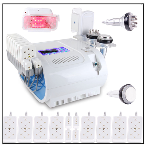 Fat Cooling Tech Cavitation Radio Frequency Vacuum Cellulite Removal Machine