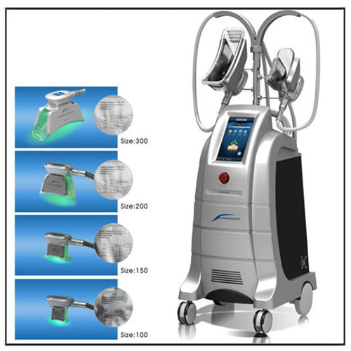 Weight Loss Cryolipolysis Machine with 4 Working Heads ETG50-4S