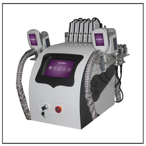 Lipolaser Cavitation Radio Frequency Coolsculpting Fat Freezing Machine