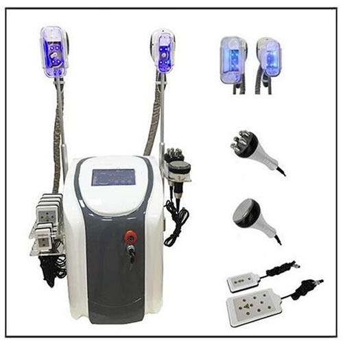 Cryo 40KHz Cavitation RF Lipo Laser Cryolipolysis Slim Machine