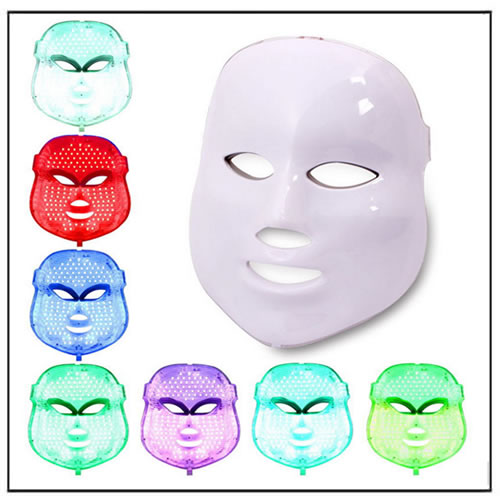 PDT Led Light Therapy Face Whitening Mask