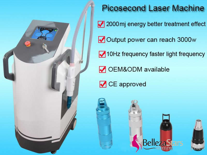 Picosecond Laser Tattoo Removal Equipment