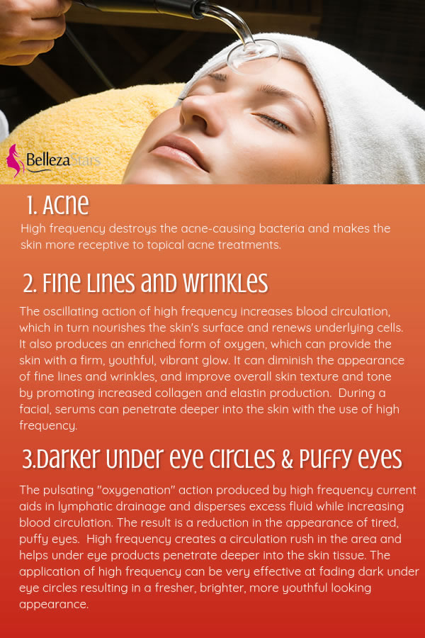 The Benefits of High Frequency During a Clinical Facial