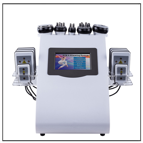 Diode Lipo Laser 40K Cavitation Vacuum RF Cellulite Weight Loss System
