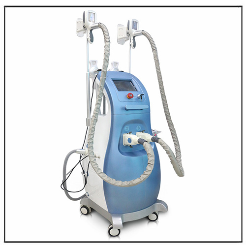 Multi-functinon 3 Cryo Handle Cryolipolisis Lipolaser RF Machine