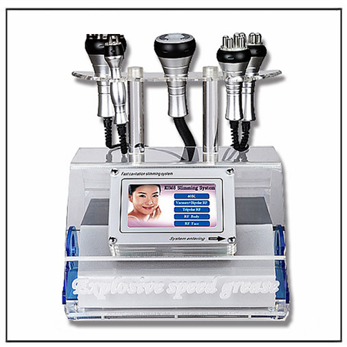 Vacuum Therapy Multifunction RF Ultrasonic Cavitation Cellulite Machine