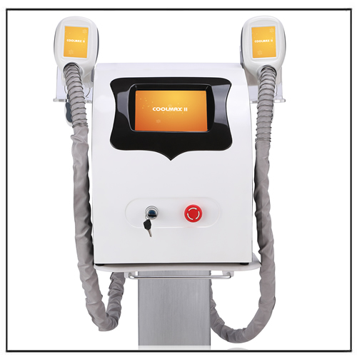 Two Handles Cryolipolysis Freezing Fat Cell Slimming Cryo Machine