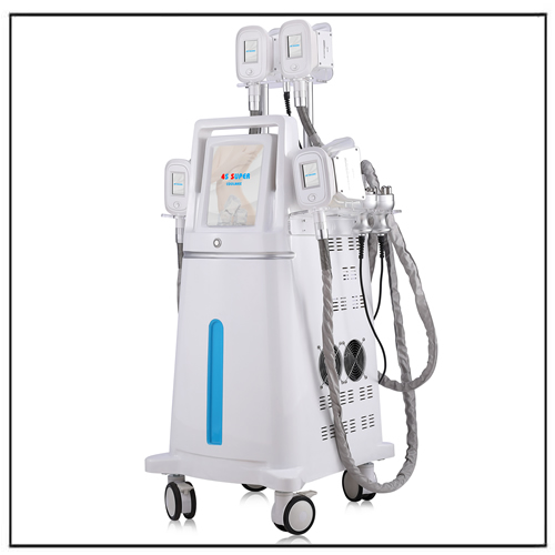Cryolipolysis Cavitation RF Laser 5 In 1 Multifunction Fat Freezing Machine