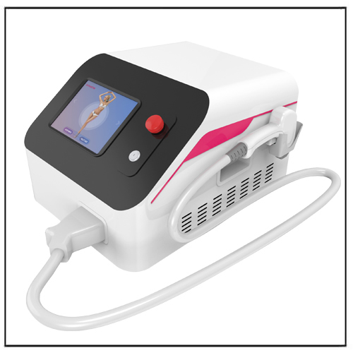 Non-invasive Pain Hair Removal 808 Laser Diode Machine