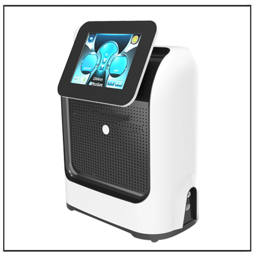 White Portable Mini PicoSure Machine Tattoo Removal