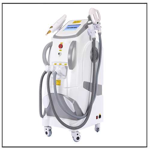 4 in 1 E-light IPL RF+OPT SHR Nd yag Laser Beauty Machine
