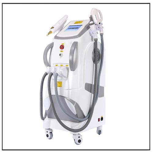 4 in 1 E-light IPL RF+OPT SHR Nd yag Laser Beauty Machine