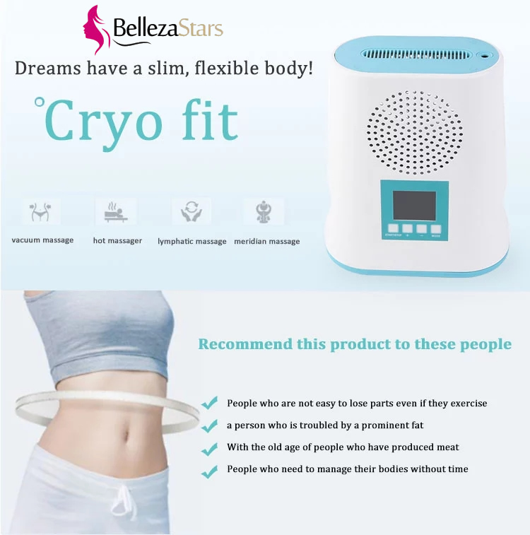 Salon Home use Mini Vacuum Weight Loss Cryotherapy Machine Cryo Lift