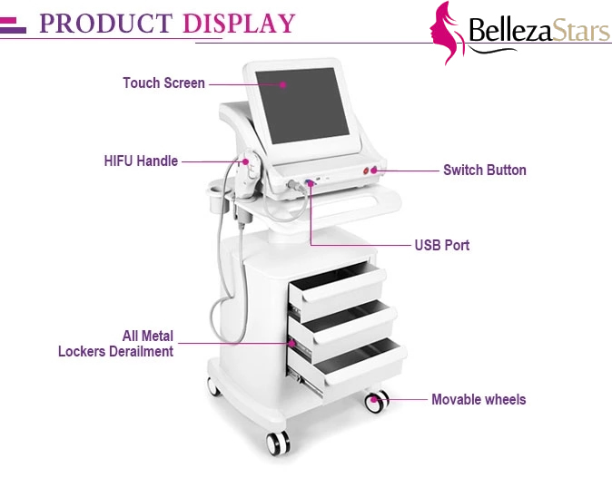 High Intensity Focused Ultrasound (HIFU) Machine Display