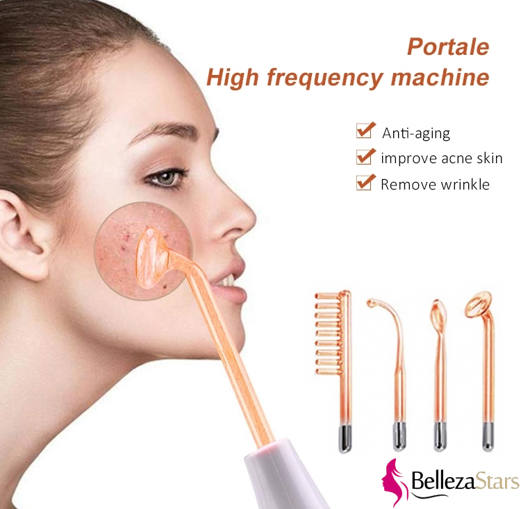 Portable High Frequency Facial Violet Ray Beauty Hair Growth Machine
