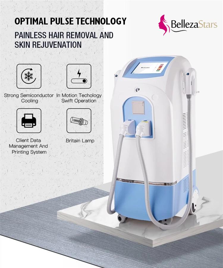 Hair Removal Vascular Removal Elight SHR OPT IPL Instrument