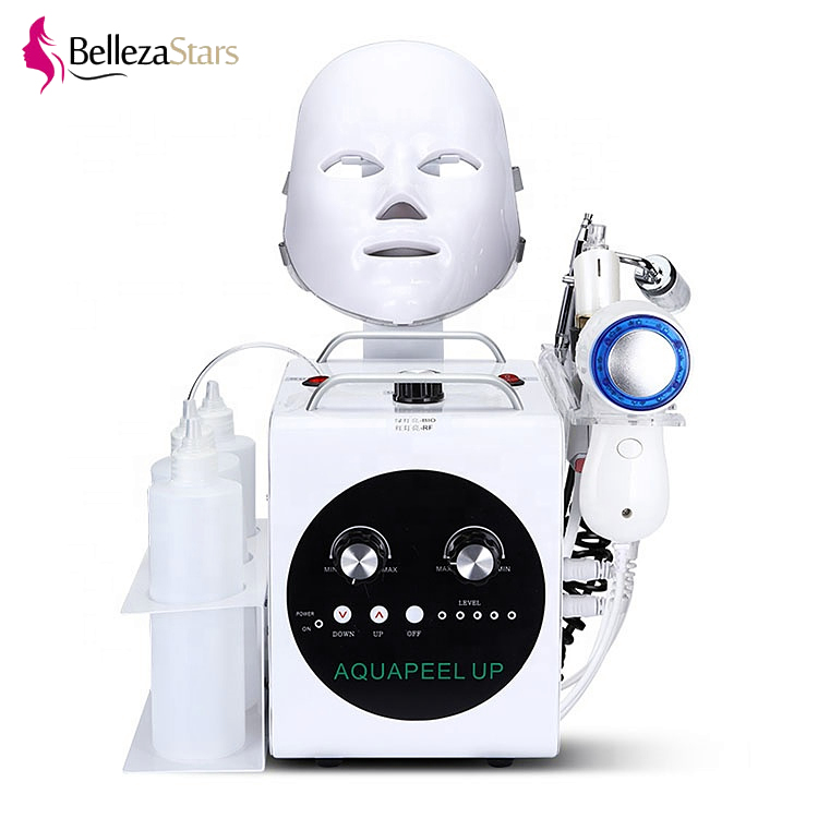 Portable 5 in 1 Skin Whitening Anti Aging Wrinkle Oxygen Facial Massage Machine