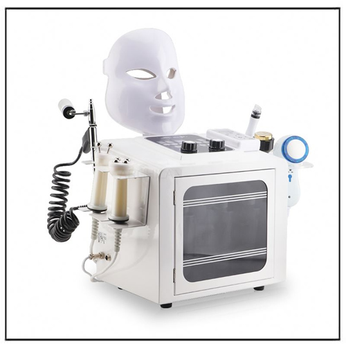 Ultrasonic Peeling Ting Mask Oxygen Spray Beauty Machine