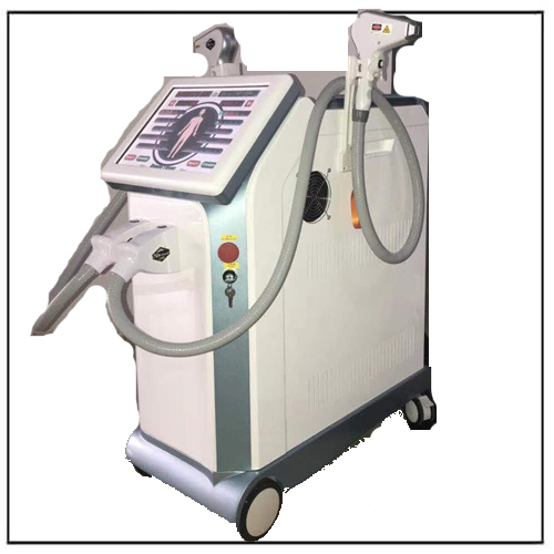Two Wavelength Diode Laser Hair Removal Equipment for All Hair Types