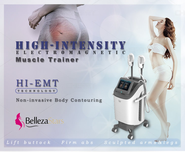 HIEMT Body Contouring Machine Build Muscle Fat Burn Treatment