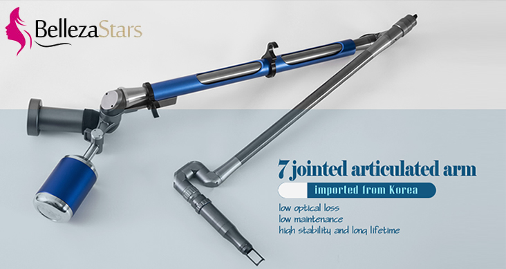 Picosecond Laser 7 jointed articulated arm