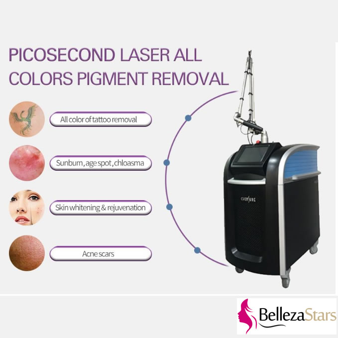 Picosecond laser all colors pigment removal device