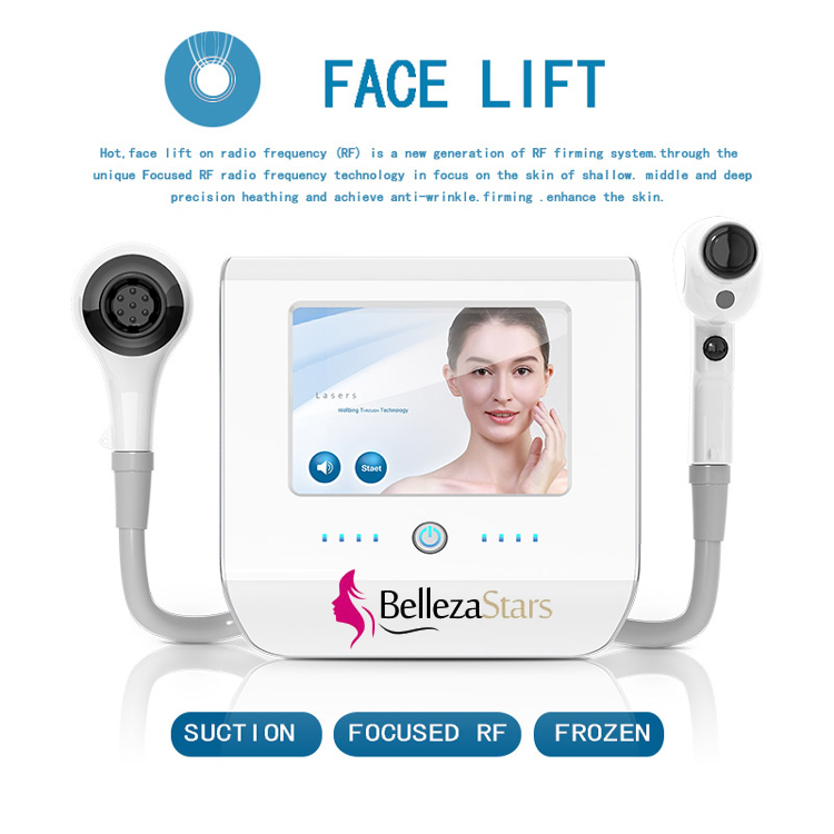 Thermolift face lift radio frequency rf firming system