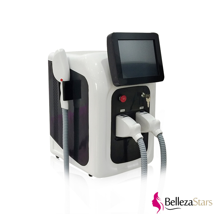 IPL Elight+ RF + Nd YAG Laser Multifunctional IPL Super Hair Removal Machine