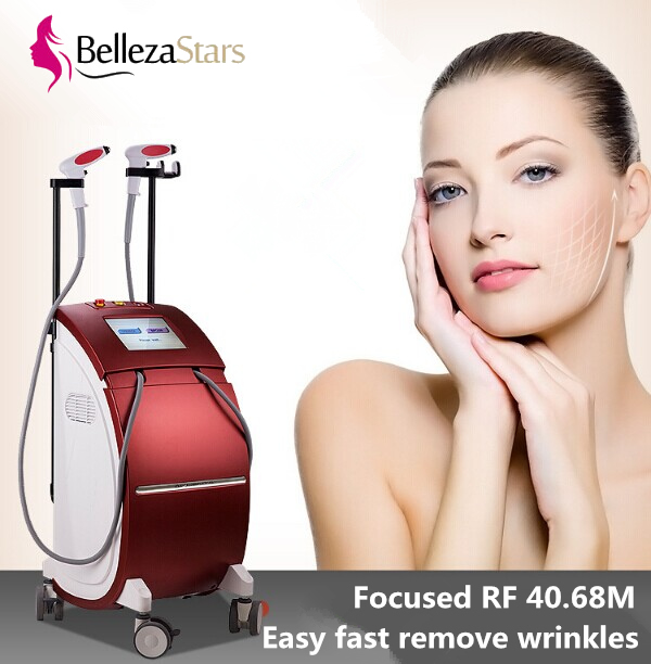 Professional focused RF 40.68MHz skin firming facial wrinkle removal thermolift