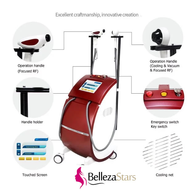 Skin Tightening Wrinkle Removal Radio Frequency RF Thermolift Machine