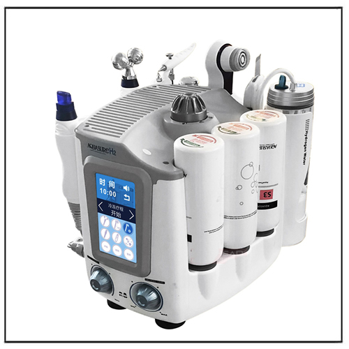 6 In 1 H2 O2 Water Dermabrasion Face Deep Cleaning Skin Rejuvenation Device