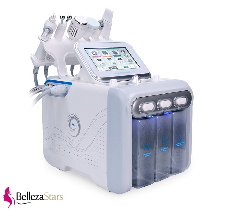 6 in 1 H2O2 Hydrogen and Oxygen Hydra Hydrodermabrasion Machine