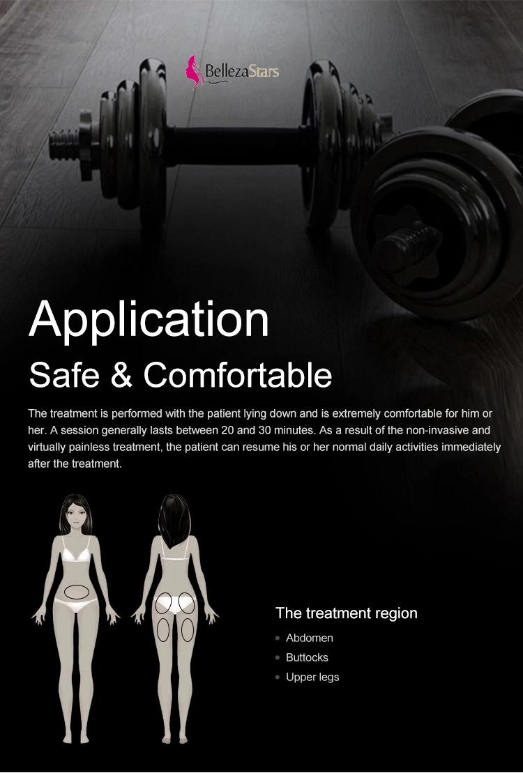 HIEMT Machine Safe Comfortable Application the treatment region abdomen buttocks upper legs
