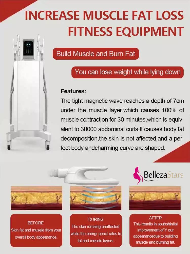 Hiemt Increase Muscle Fat Loss TeslaSculpt Slimming Equipment