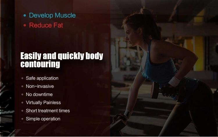 Mulscle Building Fat Reduction HIEMT Body Contouring Machine Application