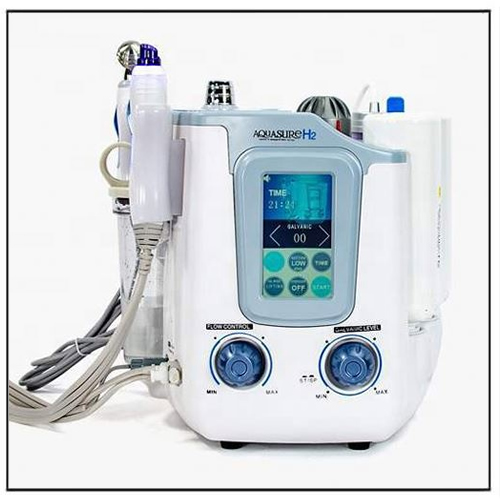 Portable Aquasure H2 Hydra Peels Facial Face Cleaning Machine
