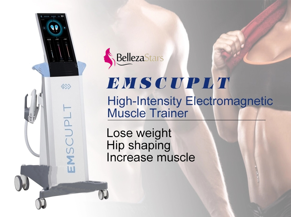 High-intensity electromagnetic muscle trainer EMSculpt Equipment