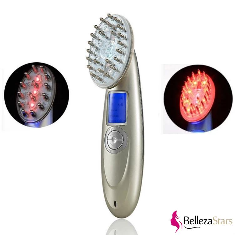 Microcurrent LED Laser Hair Regrowth Comb Scalp Follicle Stimulator Machine