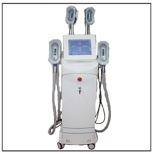 Freezing Fat Loss Machine Cryolipolisis 360° Cooling System w 4 Handles