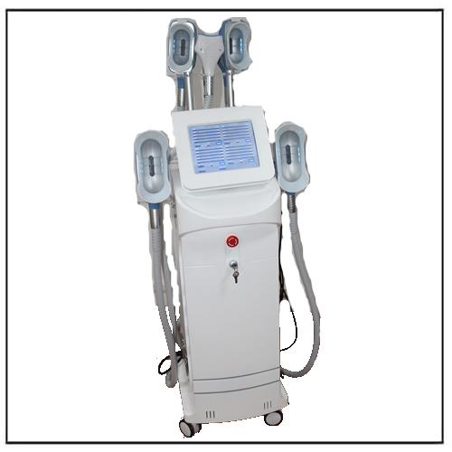 360 Degree Cooling 5 Handles Cryo Cryotherapy Lipolaser RF 40K Cavitaiton Machine