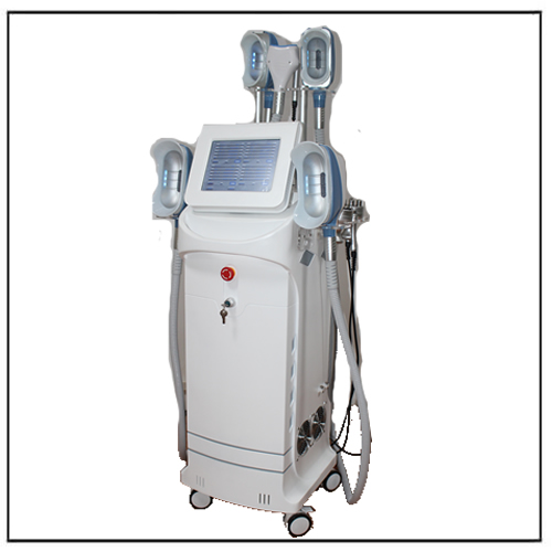 360 Degree Cooling Multifunction 5 Handles Cryolipolysis Cavitation RF Lipolaser Machine