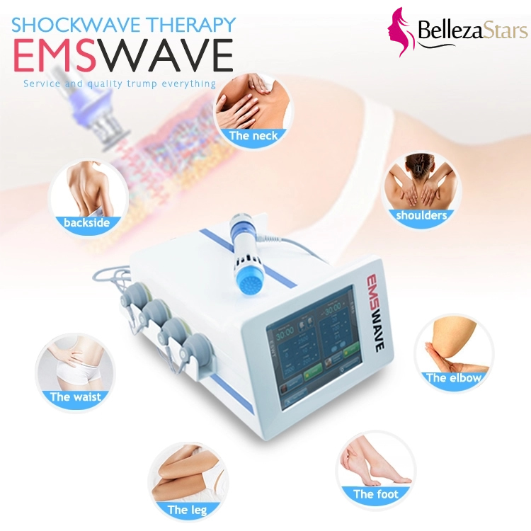 EMSHOCK Portable Shock Wave Therapy Machine