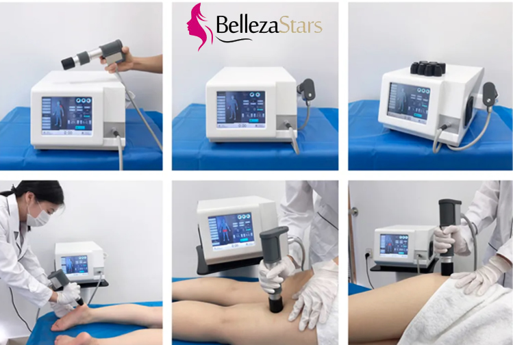 Painful Trigger Points Pneumatic Ballistic Shockwave Therapy Machine