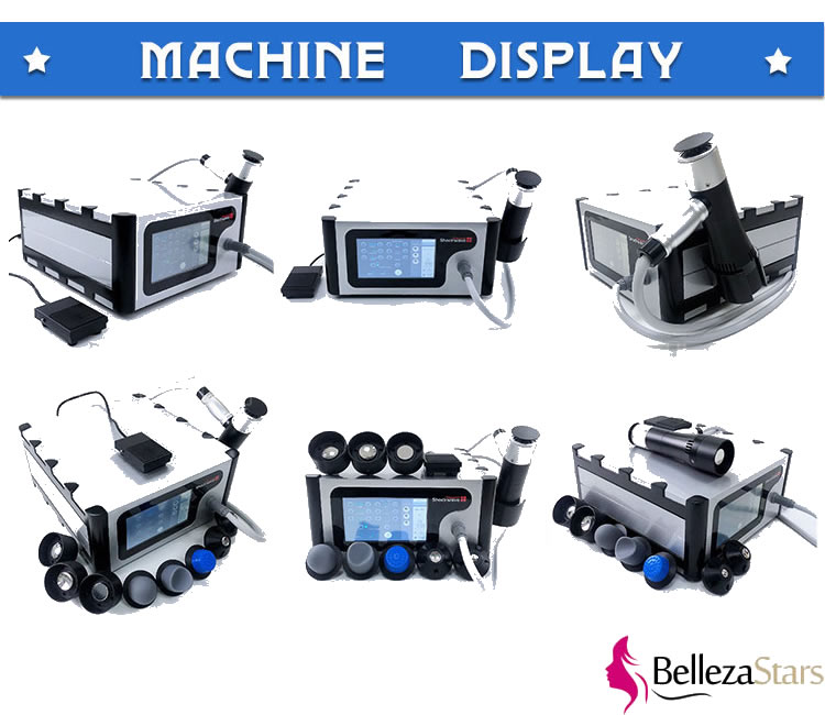 Vacuum Shockwave Therapy Machine